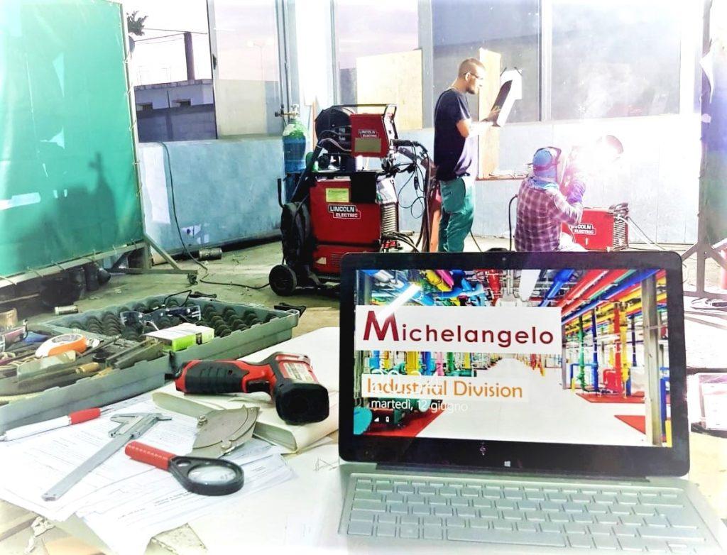 corso coordinatore di saldatura alla michelangelo luglio 2018 napoli