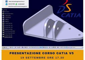 Presentazione corso catia v5 – settembre 2018 napoli