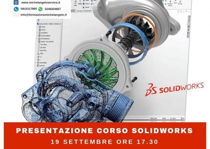 presentazione gratuita corso solidworks settembre 2018 napoli