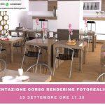 presentazione corso rendering fotorealistici settembre 2018