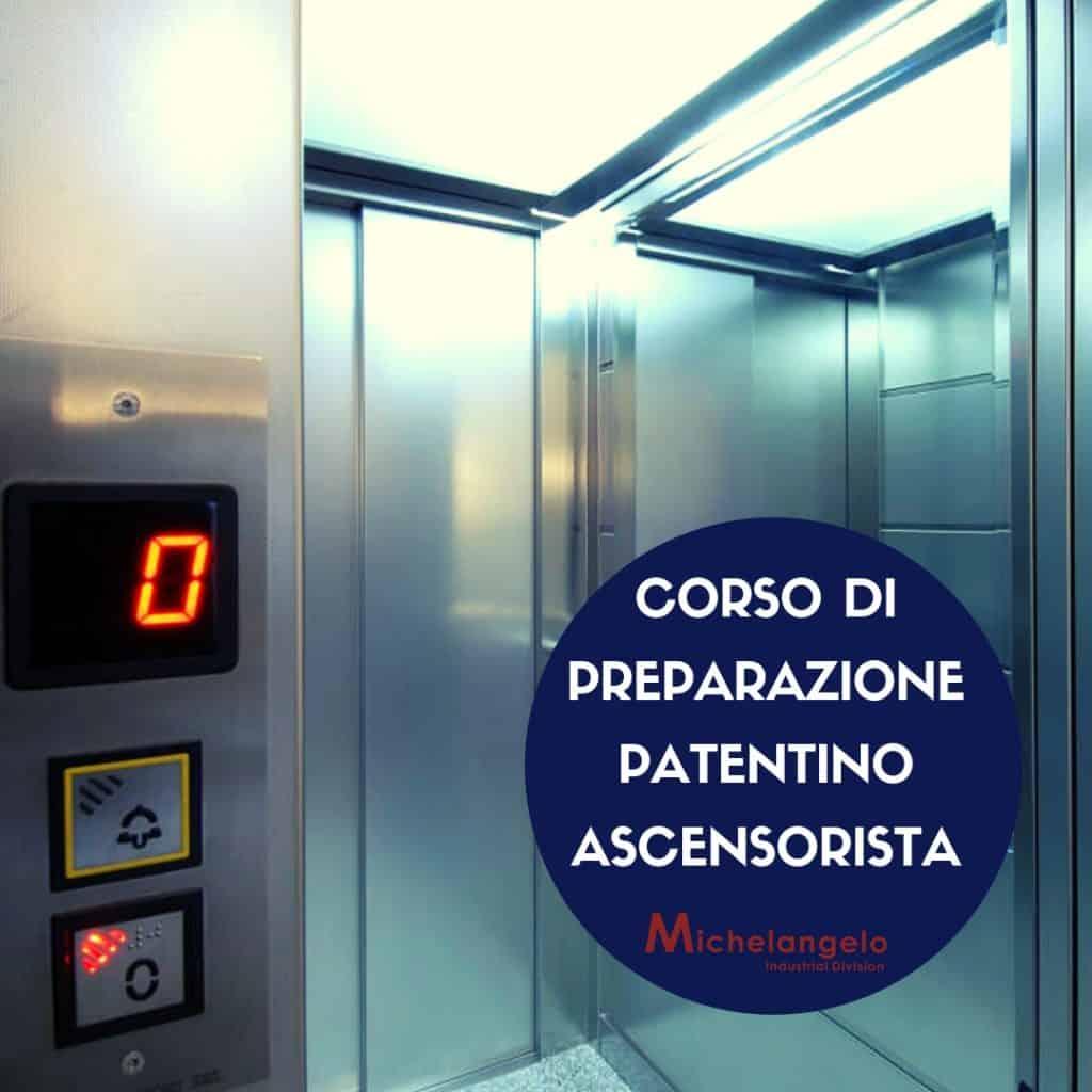 Corso di preparazione patentino ascensorista gennaio 2019