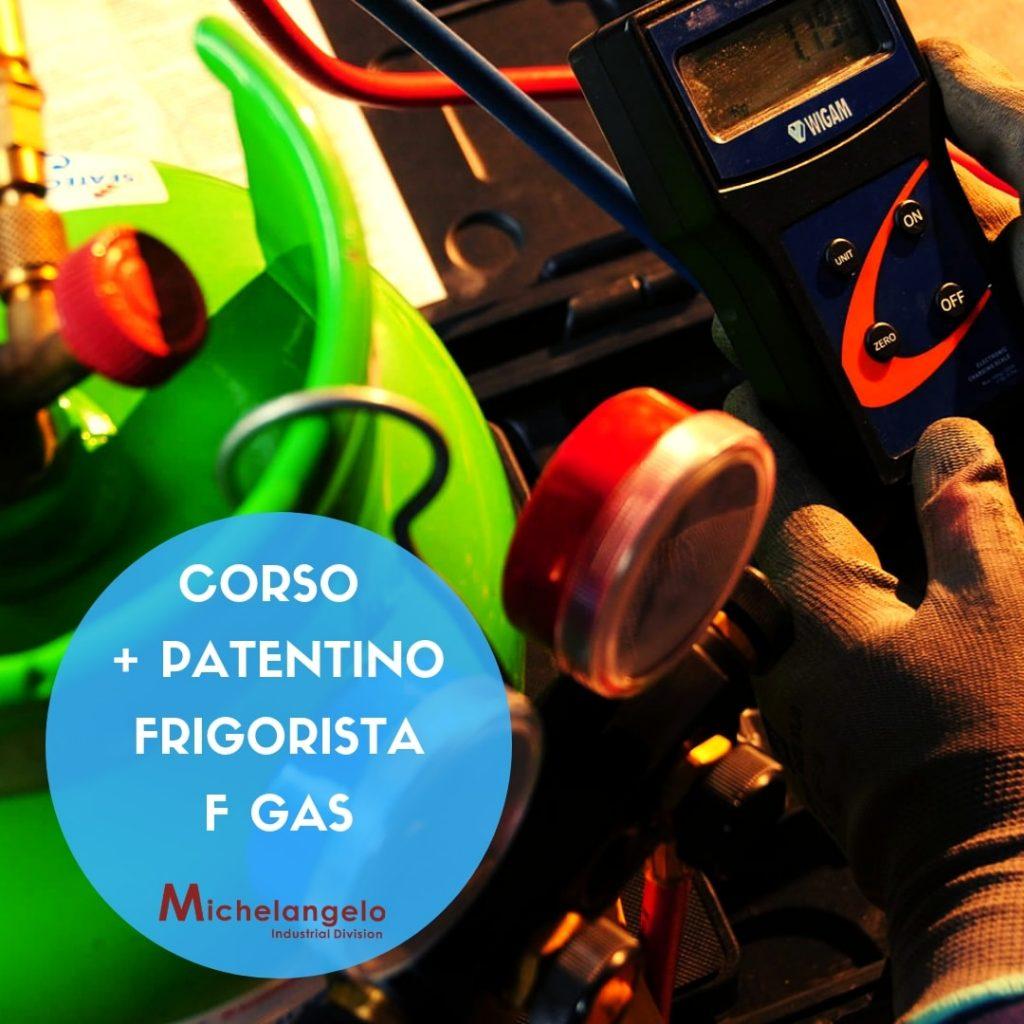 Patentino Frigorista (F-GAS) Gennaio 2019